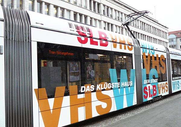 Tram Bildungsforum Potsdam